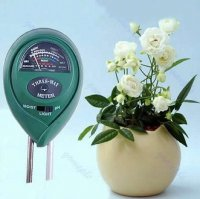 3 in 1 PH Light and Moisture Meter