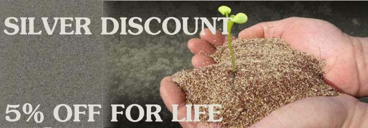 5% OFF For Life Silver Discount