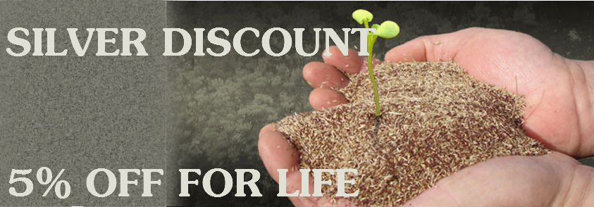 Silver Discount 5% OFF For Life